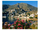 Harbour of Symi, Greece Posters