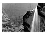 Waterfall, Zion National Park, Utah Poster