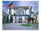 Federal Chancellery, Berlin Poster