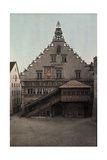 A View of the Exterior of a Lindau Church Photographic Print by Hans Hildenbrand