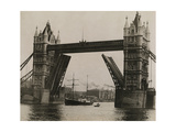 The Quest, under Command of Shackleton, Leaves London on the Thames Photographic Print by Robert Cushman Murphy