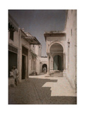 A View of the Medersa, the High School of Muslim Law Photographic Print by Gervais Courtellemont