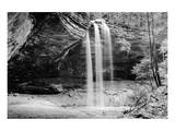 Waterfall, Hocking Hills State Park, Ohio Prints