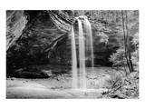 Waterfall, Hocking Hills State Park, Ohio Prints