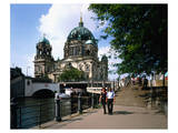 Berlin Cathedral River Spree Posters