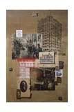 A Collage of Historic Places in the United States Giclee Print by Fred Otnes