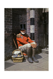 A War Veteran Sells Matches on the Street Photographic Print by Clifton R. Adams