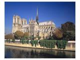 Seine River Notre Dame, Paris Prints
