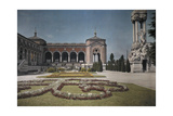 A View of the Gardens Outside the Cimitero Monumentale Photographic Print by Hans Hildenbrand