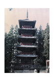 A Pagoda at the Temple of the Summer Palace of the Emperor Photographic Print by Franklin Price Knott