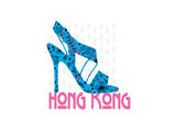Hong Kong Shoe Art by Elle Stewart