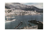 A View of Monte Carlo from the Rock of Monaco Photographic Print by Hans Hildenbrand
