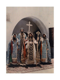 His Beatitude Ignatius Elias Iii and His Followers Photographic Print by Maynard Owen Williams