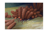 A Species of Slime Mold Giclee Print by William H. Crowder