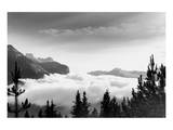 Over the Clouds, Banff National Park, Alberta Kunst