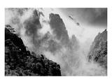 Misty Huangshan, China Prints