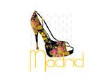 Madrid Shoe Prints by Elle Stewart