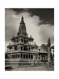 The Krishna Mandir Temple in Patan, Nepal Photographic Print by John-Claude White