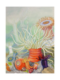 A View of Poisonous Sea Anemones Giclee Print by Else Bostelmann