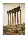 Remains of the Jupiter Temple Photographic Print by Maynard Owen Williams