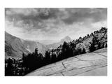 Flat Rocks, Yosemite National Park, California Print