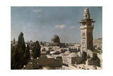 A View of the Dome of the Rock, a Scared Religious Landmark Photographic Print by Hans Hildenbrand