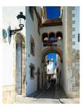 Oldtown Sitges Barcelona Spain Print