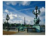 Bridge Eiffel Tower, Paris Láminas