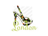 London Shoe Prints by Elle Stewart