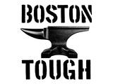 Boston Tough White Poster by  SM Design