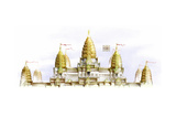 Angkor Wat, a Monument Dedicated to the Hindu God Vishnu Giclee Print by Bruce Morser