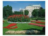 Burgtheater in Vienna, Austria Posters