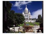 Sacre Coeur Basilica , Paris Posters