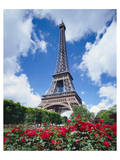 Eiffel tower in Paris, France Posters