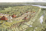 Aguateca, the Last Stronghold of an 8th-Century A.D. Kingdom Giclee Print by Richard Schlecht