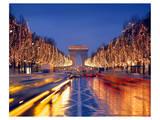 Arc de Triomphe, Paris Posters