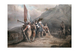 A Reenactment of Jan Van Riebeek's Landing at the Cape of Good Hope Photographic Print by Melville Chater