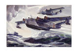 Patrol Bombers Were Cruisers with Wings, the Open Sea their Runway Giclee Print by Andre Durenceau