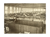 An Interior View of a Large Silk Mill Giclee Print