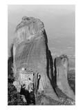 Medieval Monastery, Meteora, Greece Prints