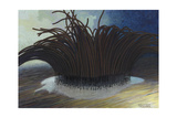 Spore Producing Body of a Slime Mold Giclee Print by William H. Crowder