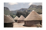 Rondavels Provide Historical Camping Sites in Natal Drakensberg Park Photographic Print by Melville Chater