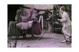 Circus Clowns Posing with Other Circus Performers Photographic Print by Richard Hewitt Stewart