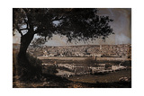 A View of Jerusalem from the Mount of Olives Photographic Print by Hans Hildenbrand