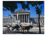Parliament Building Vienna Posters