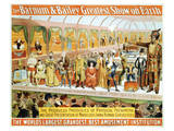 Poster For the Barnum and Bailey Circus Prints