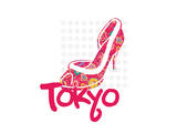 Tokyo Shoe Prints by Elle Stewart