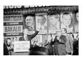 Jimmy Carter and Mayor Richard J. Daley Poster