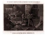 Raid On the Charleston Post Office Prints