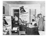 Interior View of NAACP Branch Office in Detroit Prints